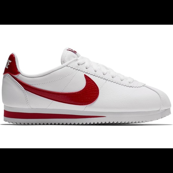NWT Nike Cortez White Red Crush